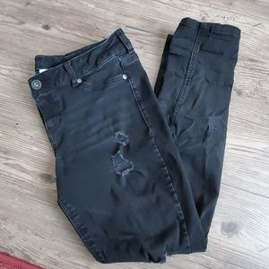 Maurices large skinny distressed jegging